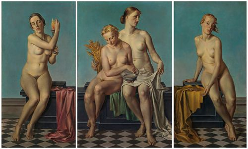Adolf-Ziegler-The-Four-Elements-before-1937